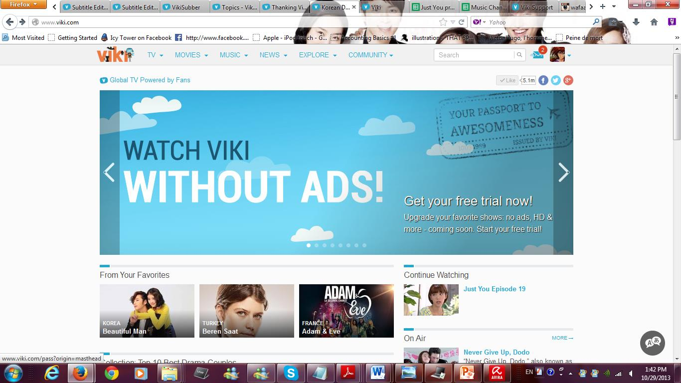 Viki Changes and Viki Pass - General Discussion - Viki