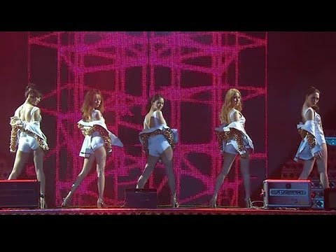 SISTAR vs. KARA at Korean Music Festival 2012: SISTAR