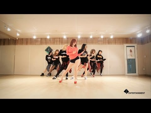 Secret: good-night kiss dance practice