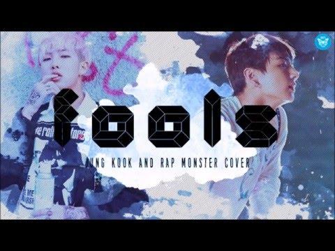 Rap Monster and Jung Kook-Fools : Bangtan Boys (BTS)