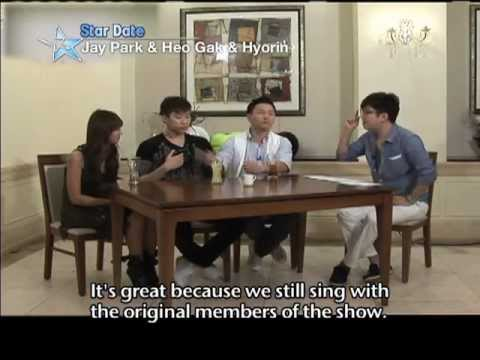 Star Date (Jay Park, Huh Gak & Hyorin): SISTAR