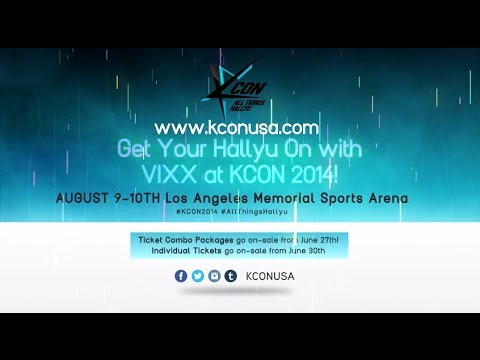 KCON 2014 Artist Lineup Spotlight - VIXX: KCON 2014