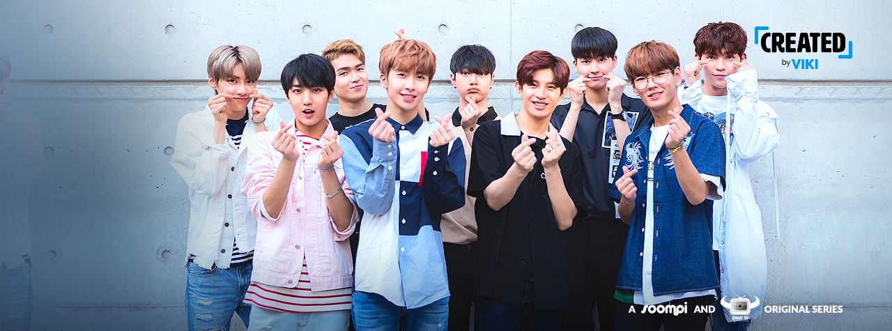 Up10tion channel header