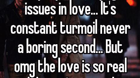 turmoil of love