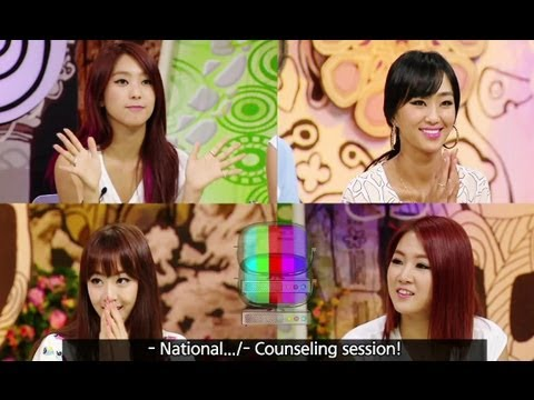 Hello Counselor (07.08.2013): SISTAR