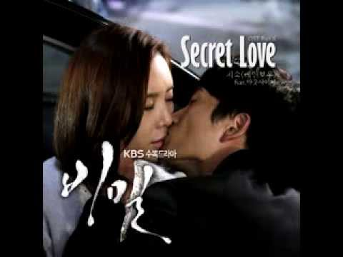 Ost 6-지숙 (Rainbow) - Secret Love (Feat. Outsider): Secret