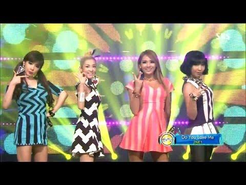 Inkigayo_DO YOU LOVE ME   : 2NE1