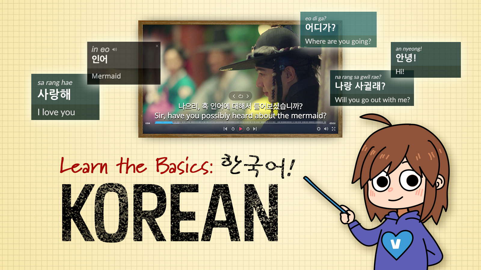 Learn the Basics: Korean