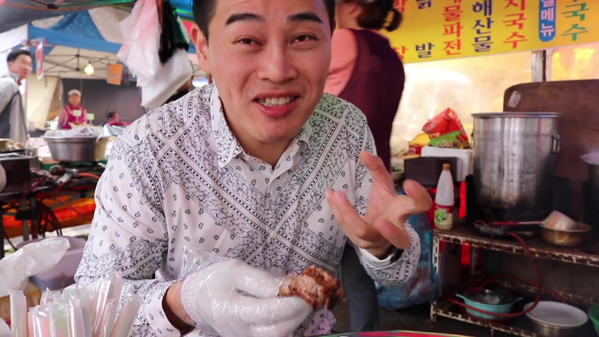 Todo Sobre Corea del Sur Episode 163: Traditional Korean Market Tour: Eating Ox Blood Hangover Soup [Todo Sobre Corea del Sur]