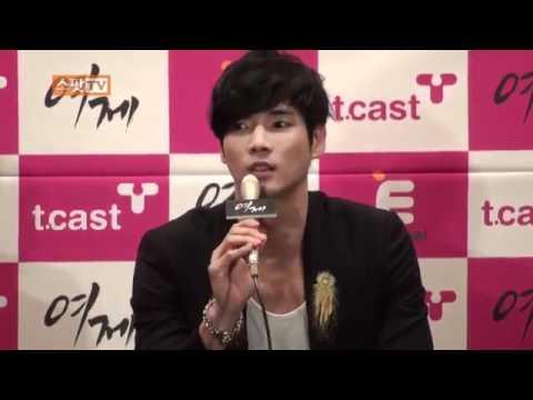 """The Empress"" Press Conference ( Kang Ji Seob): The Empress"