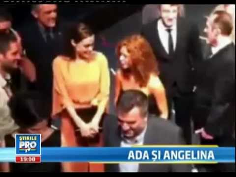 Ada Condeescu meets Angelina Jolie at Sarajevo Film Festival: Ada Condeescu