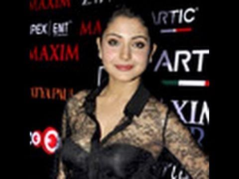 Anushka Unveils Maxim Magazine Cover: Anushka Sharma