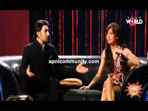 Anushka Sharma on Koffee with Karan (Part 1): Anushka Sharma
