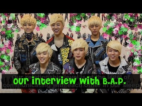 Interview (eatyourkimchi@youtube): B.A.P