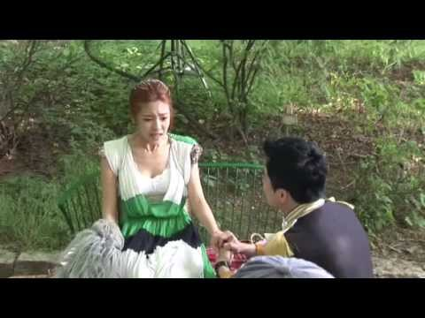 BTS Footage - Jae Shin & Eun Shi Kyung's Kiss: The King 2 Hearts