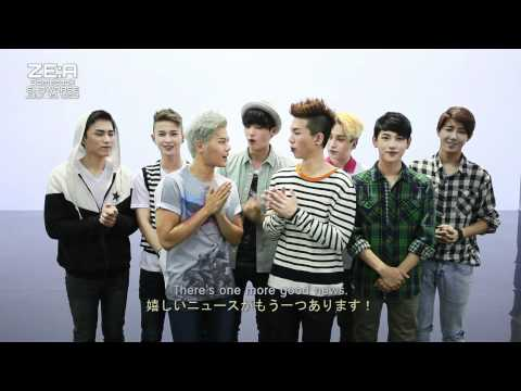 ZE:A[제국의아이들] 20120704 Comeback : Preview for ZE:A Showcase on Youtube: ZE:A