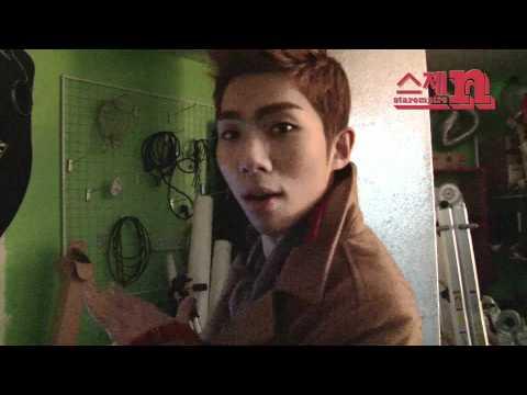 ZE:A[제국의아이들] Kevin, 민우(MinWoo),태헌(TaeHeon) 촬영장에서 놀기: ZE:A