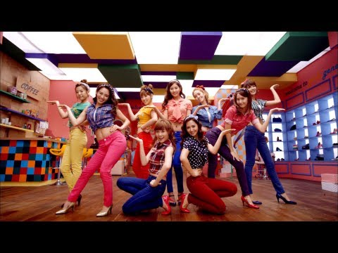 SNSD/Girls' Generation: Gee (JPN Ver.)