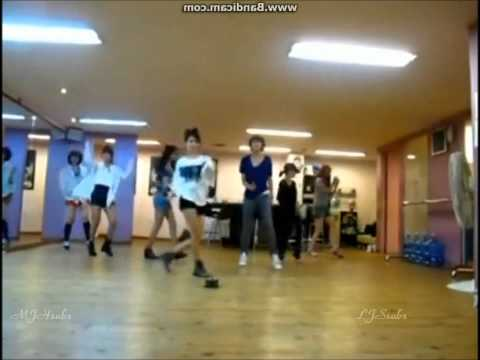 Roly Poly Dance Practice (Mirrored): T-ara