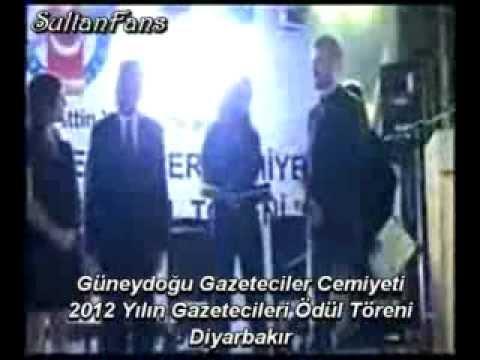 ve Şahin Irmak ~ 2012 Yılın Gazetecileri Ödül Töreni ~ Diyarbakır: Nurgül Yeşilçay