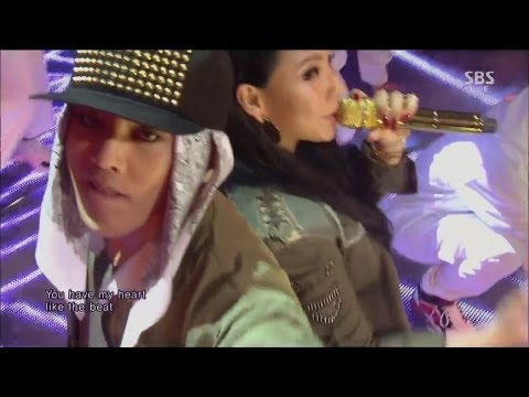 G-DRAGON_0929_SBS Inkigayo_R.O.D (Feat. CL) + 삐딱하게_No.1 of the week : BIGBANG