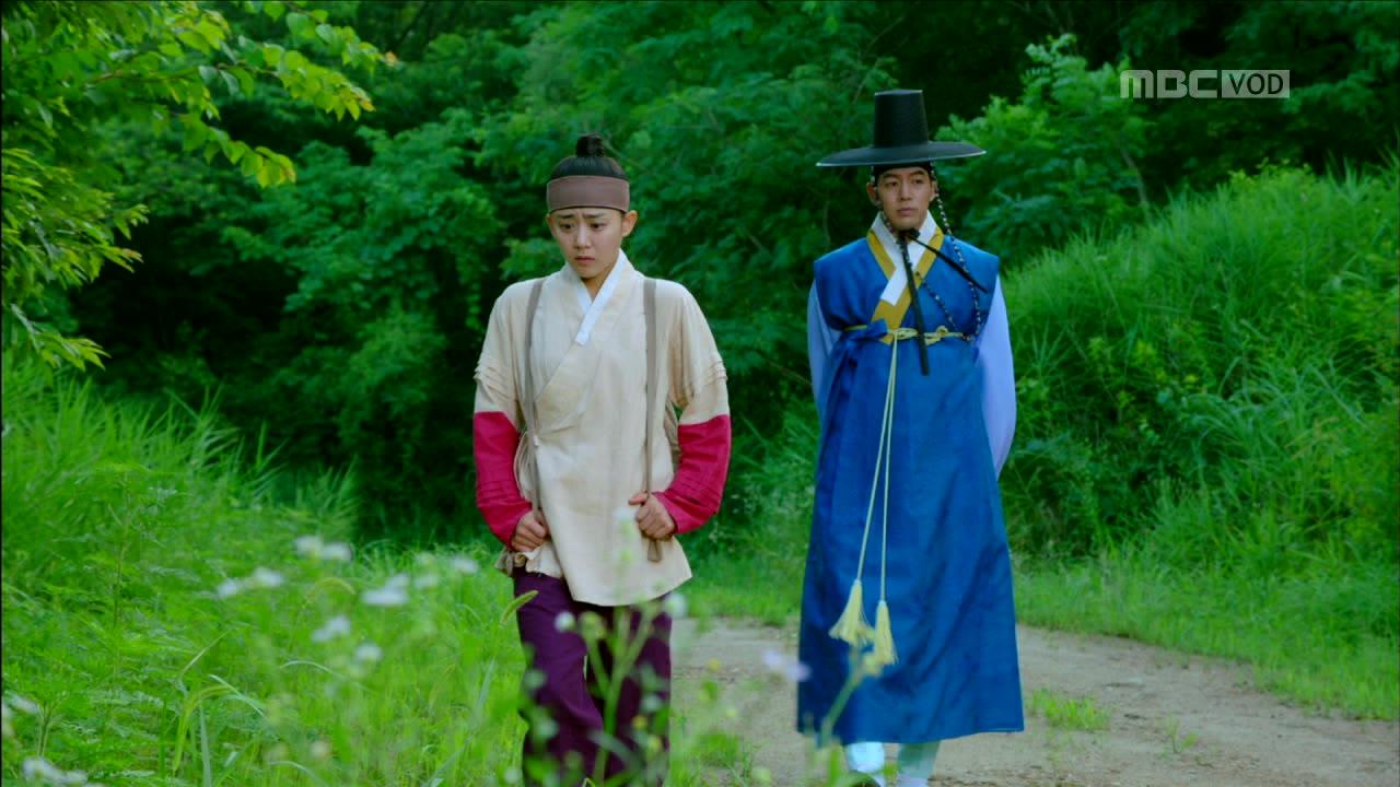 Jung Yi, the Goddess of Fire Episode 10