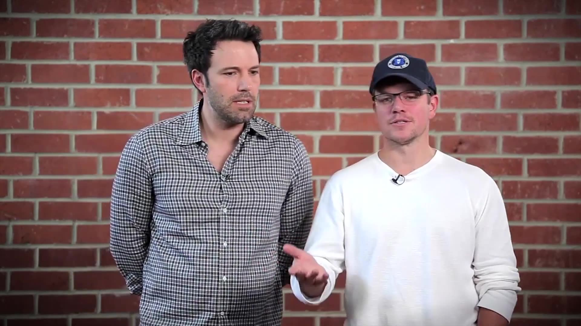 Ben Affleck and Matt Damon Bust Each Other's Chops For Charity