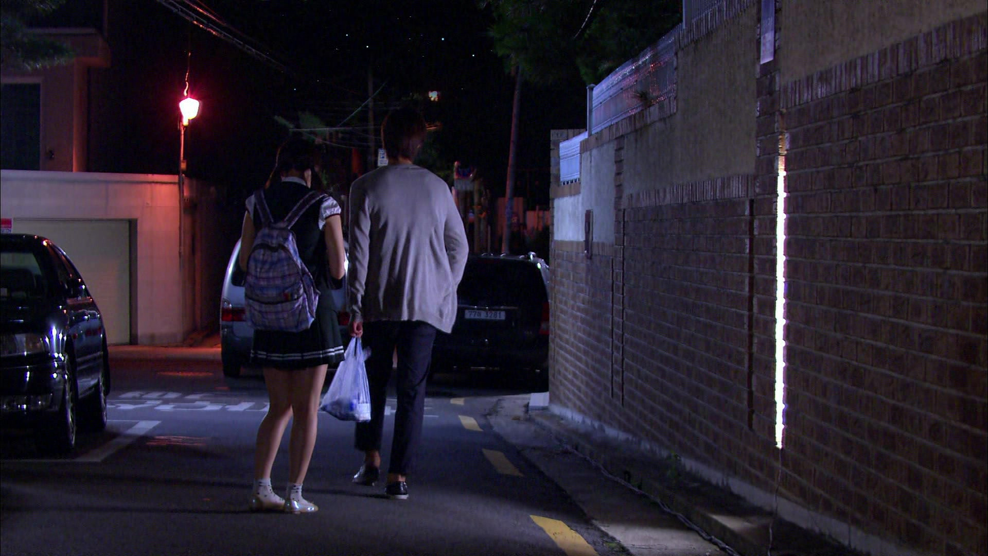 Seung Jo Saves Ha Ni From Flasher: Playful Kiss