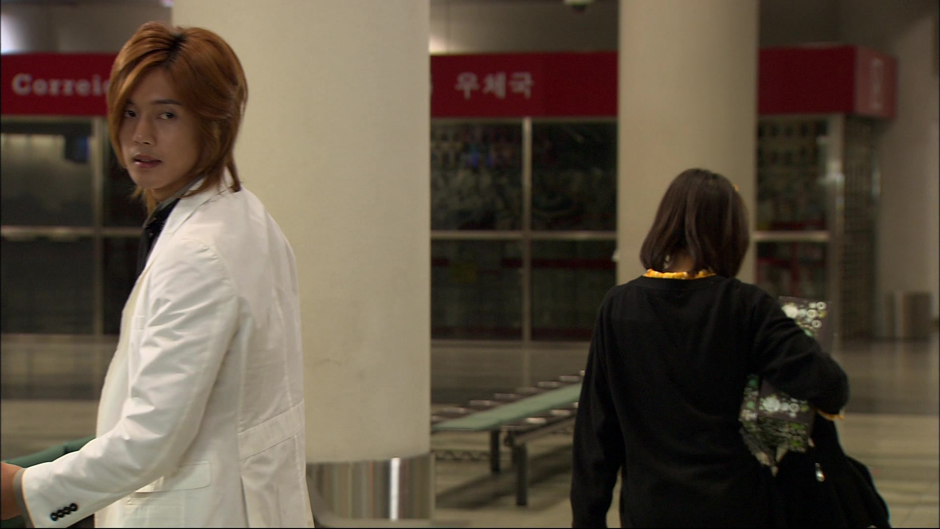 Heartbroken Jan-Di Left Joon-Pyo Alone in The Airport: Boys Over Flowers