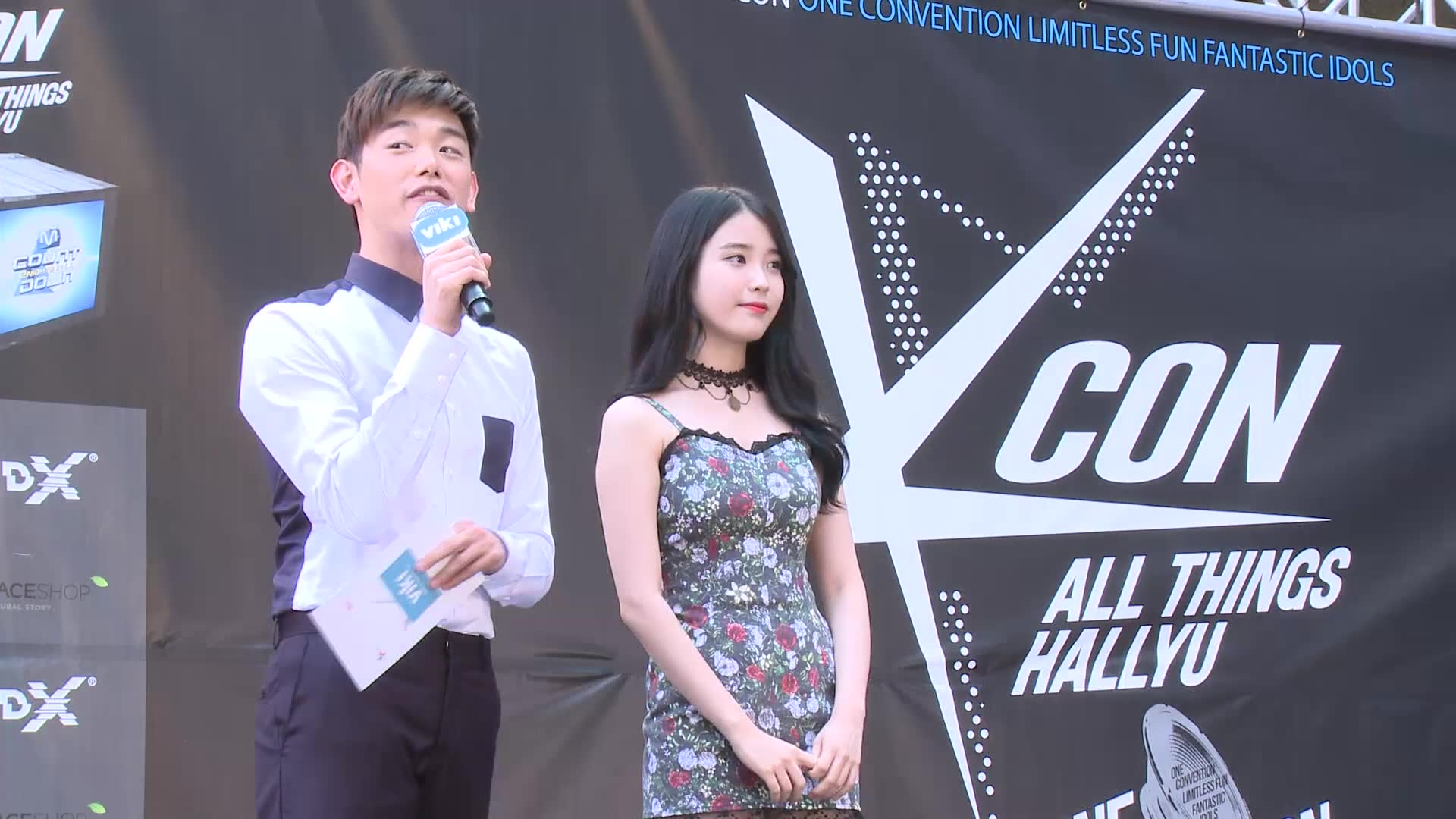 KCON 2014 Episode 2: IU on the Red Carpet with Eric Nam