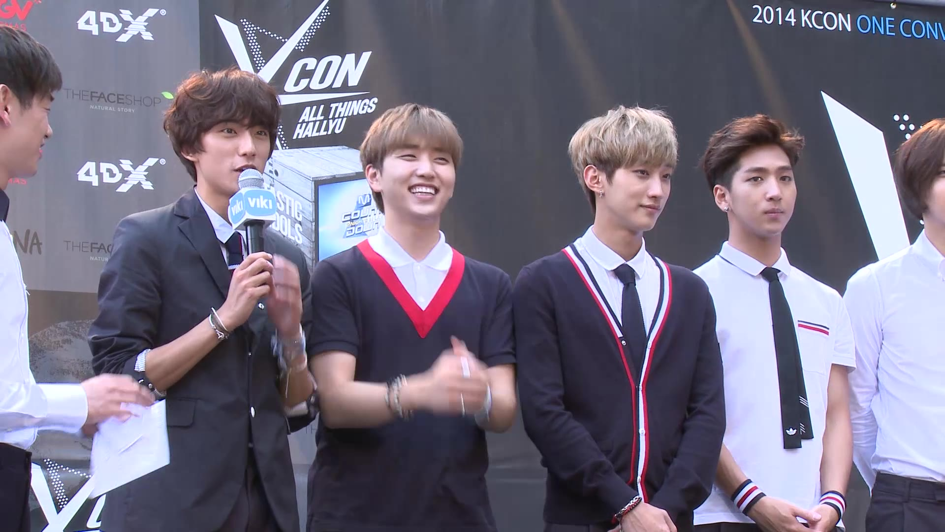 KCON 2014 Episode 6: B1A4 on the Red Carpet with Eric Nam