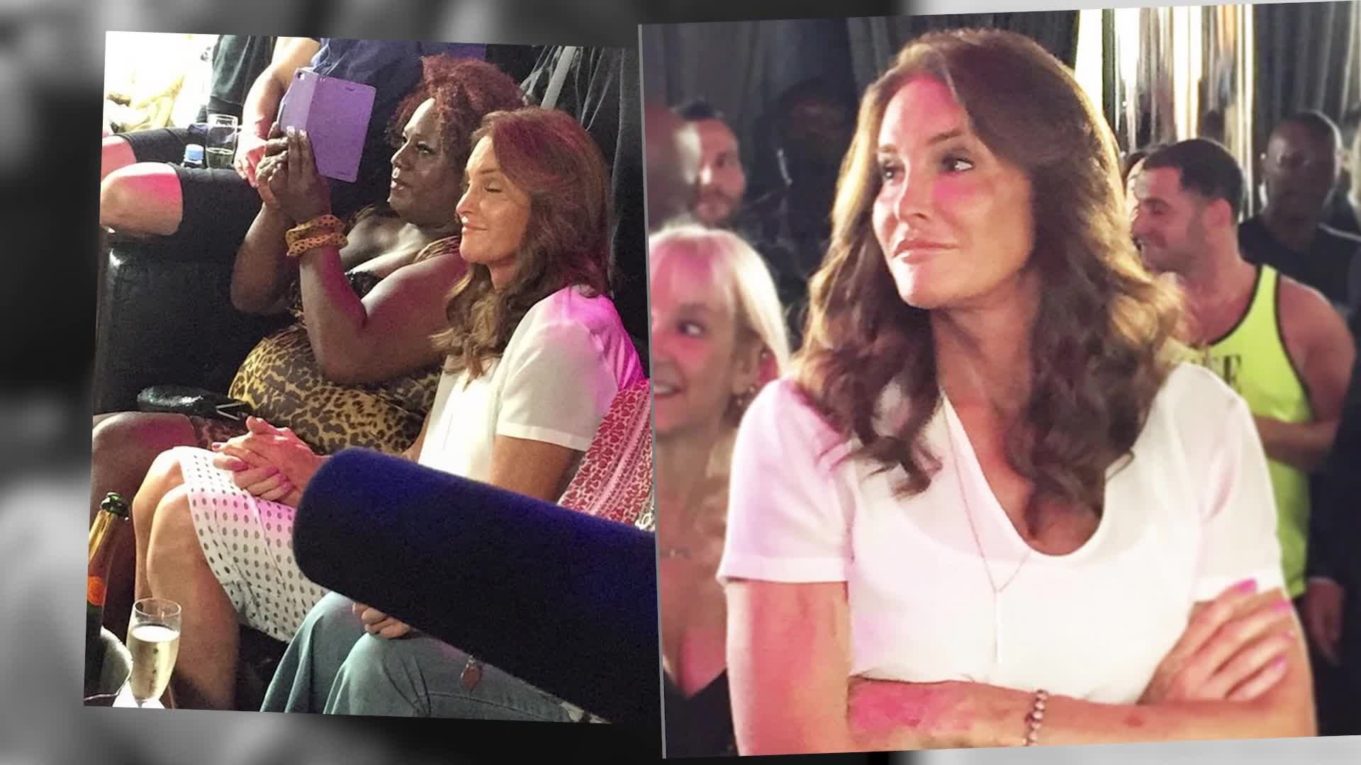 Caitlyn Jenner Makes First Public Appearance For Pride