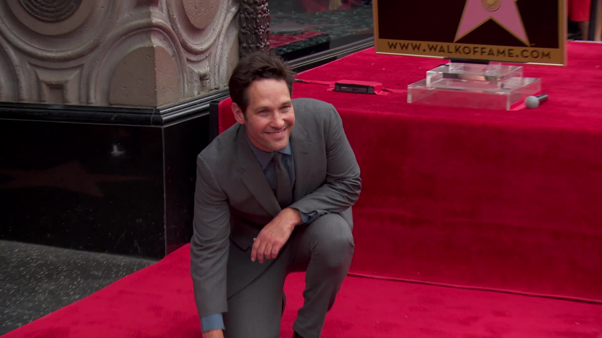 Paul Rudd Receives Hollywood Star Ahead Of Ant-Man Release