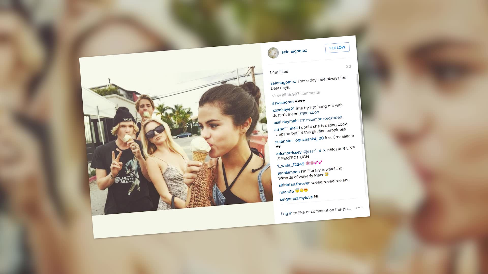 Cody Simpson Brushes Off Selena Gomez Hook Up Rumors