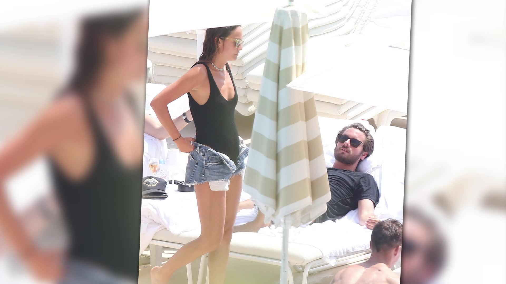 Scott Disick Hangs Out With Ex-Girlfriend in South of France