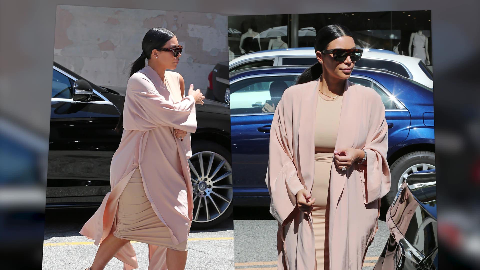Kim Kardashian And Family Celebrate Their Grandma's Birthday