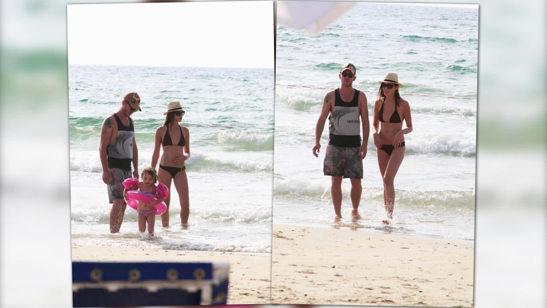 Wonder Woman Gal Gadot Hits The Beach