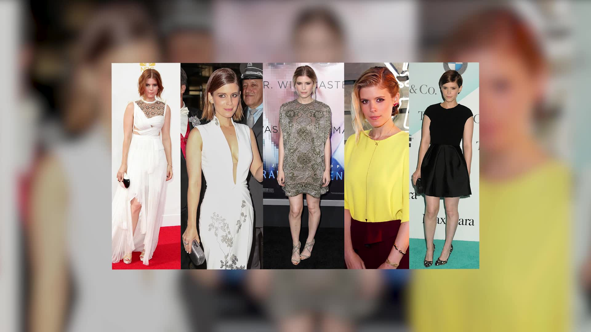 Kate Mara's Interesting Red Carpet Style