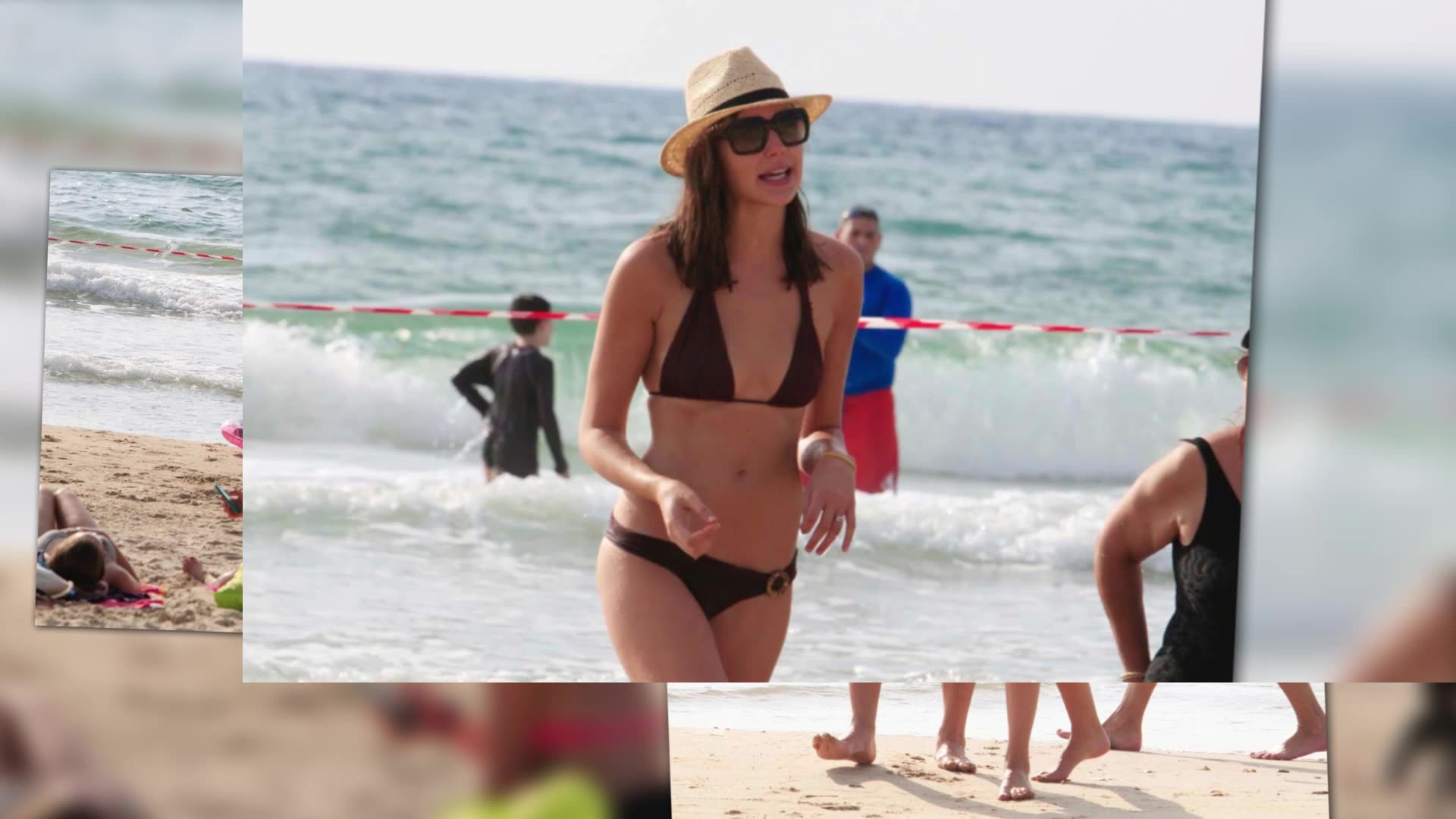 Wonder Woman Gal Gadot Hits The Beach
