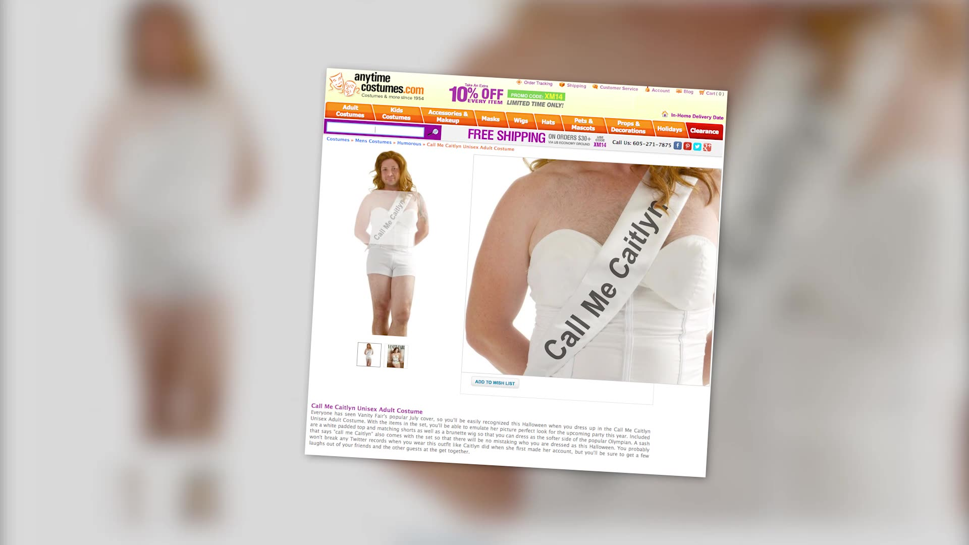Caitlyn Jenner Halloween Costume Receives Major Backlash