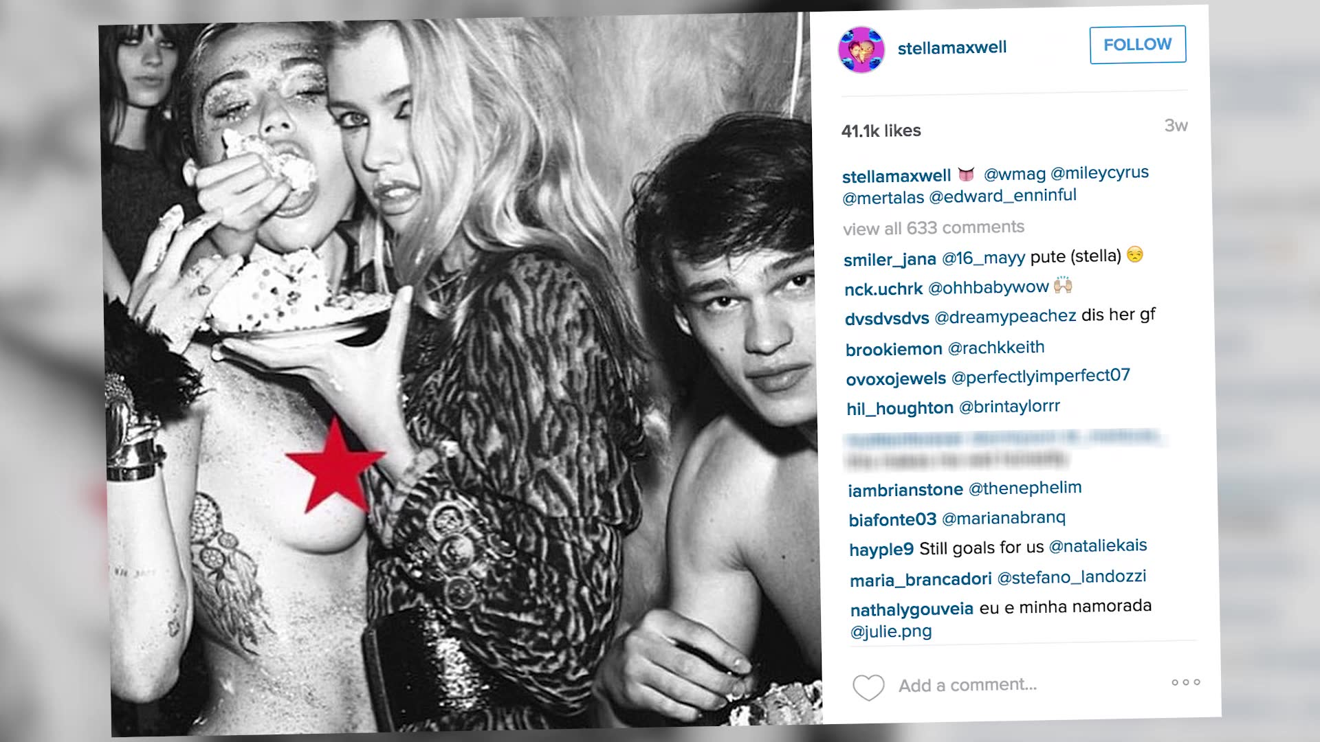 Miley Cyrus Wont Admit To Relationship With Supermodel Stella Maxwell