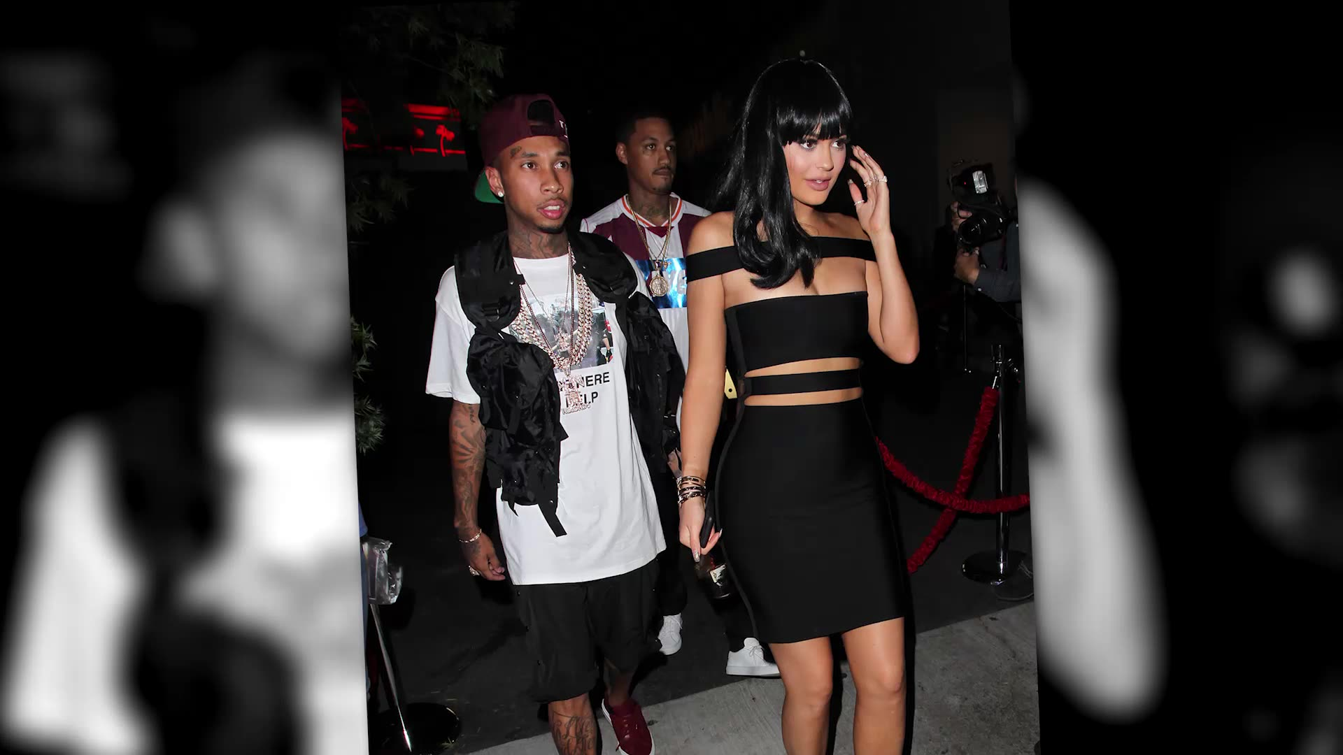 Kylie Jenner's Sexy Post-VMAs Cutout Dress
