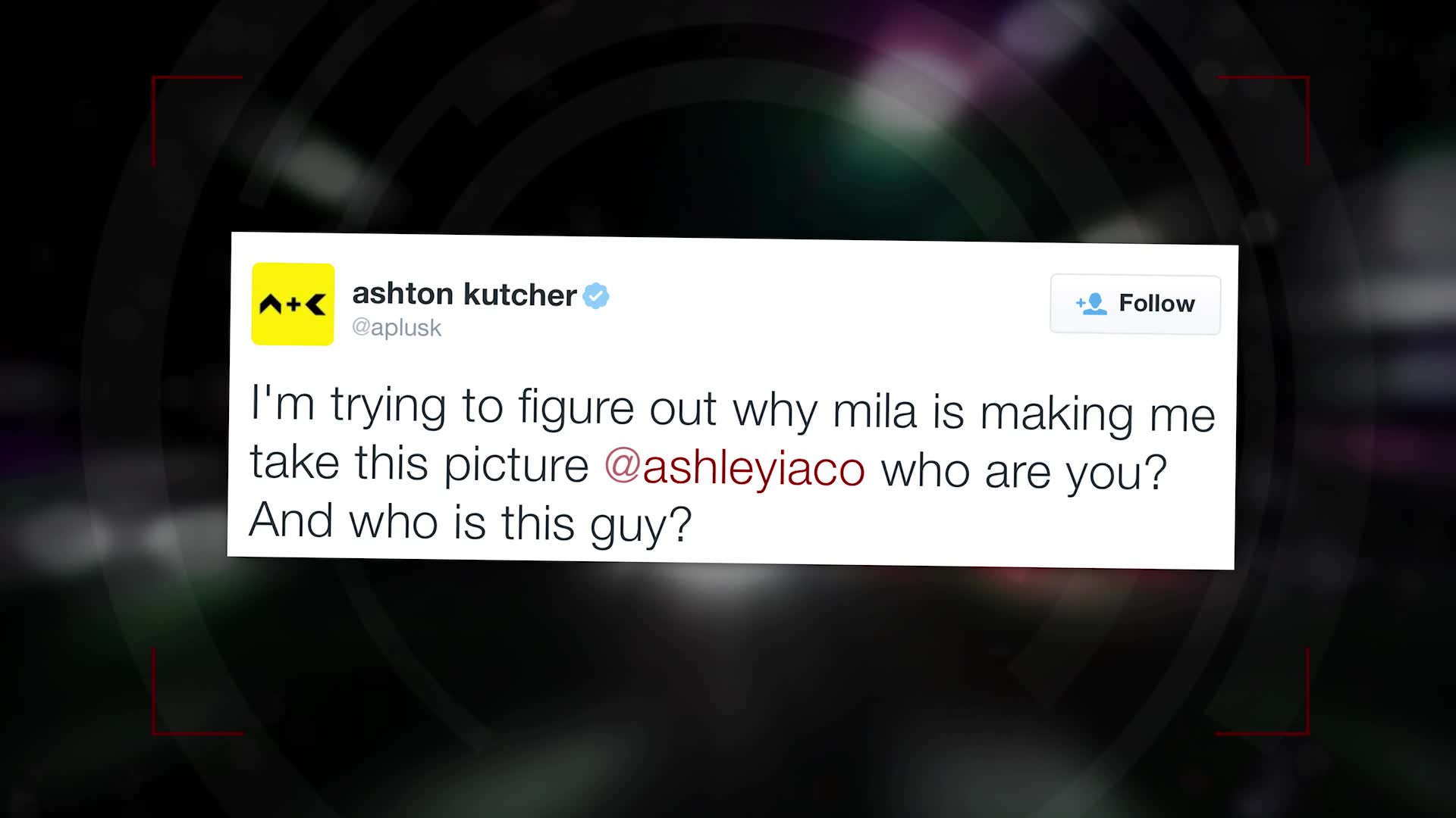 Ashton Kutcher Posts Funny 'Bachelor' Comparison Photo