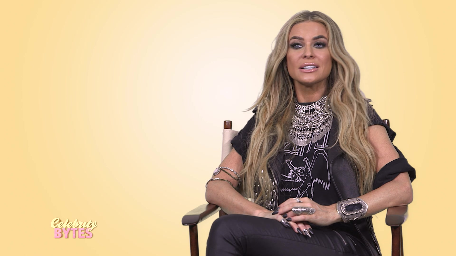 Carmen Electra Talks Getting Intimate