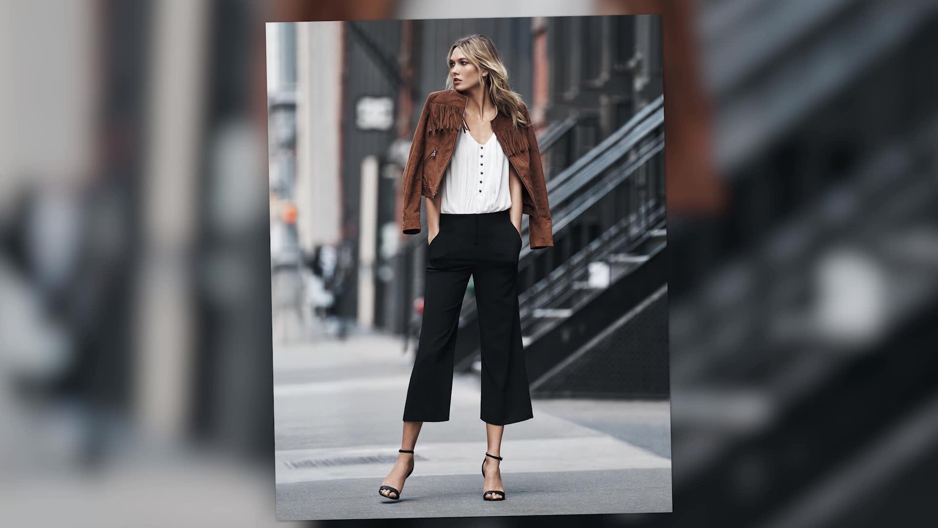 Karlie Kloss Keeps Modeling After Nervously Starting School