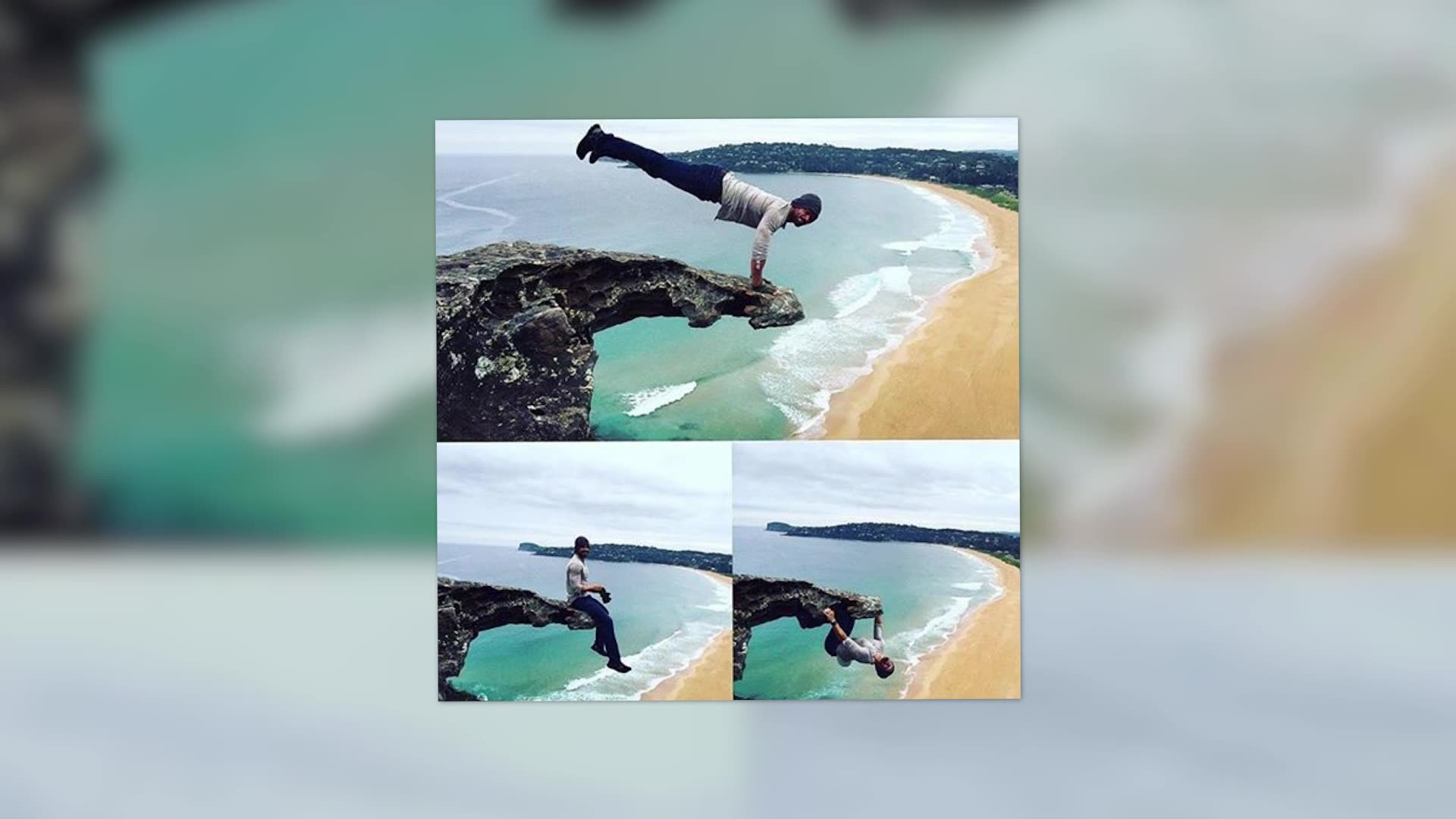 Kellan Lutz Cheats Death For a Quick Workout in Australia