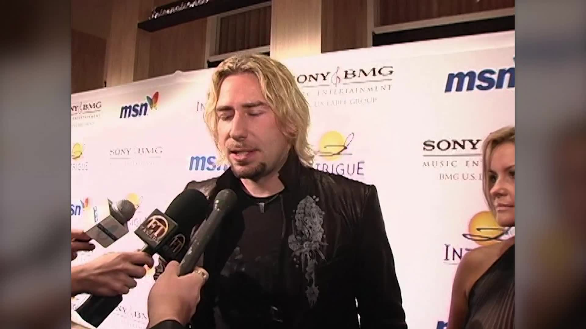 First Pictures of Chad Kroeger After Splitting With Avril Lavigne