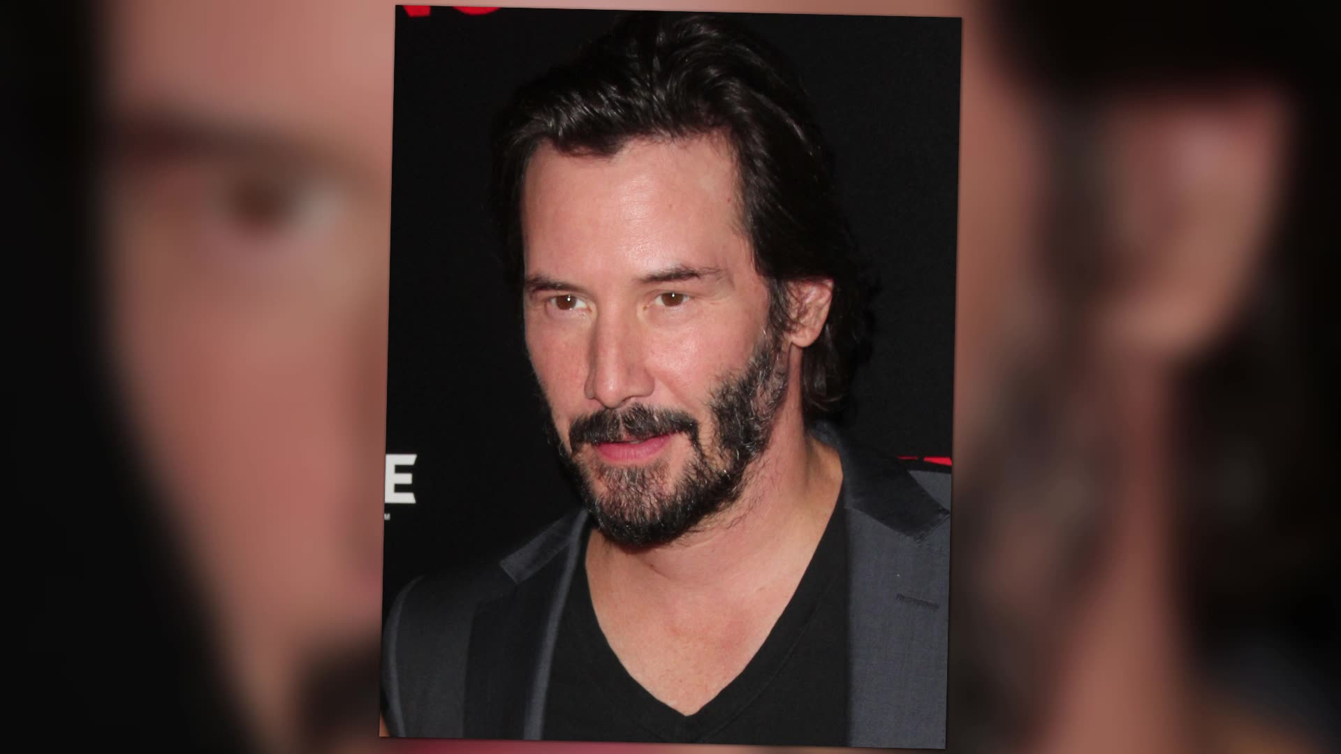 Keanu Reeves Looks Ruff And Ready At Knock Knock Premiere