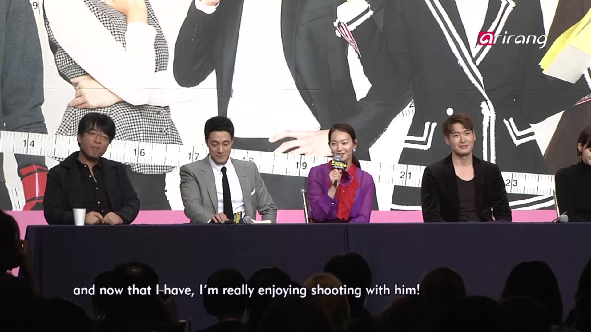 So Ji Sub & Shin Min Ah's 'Oh My Venus' - Press Conference