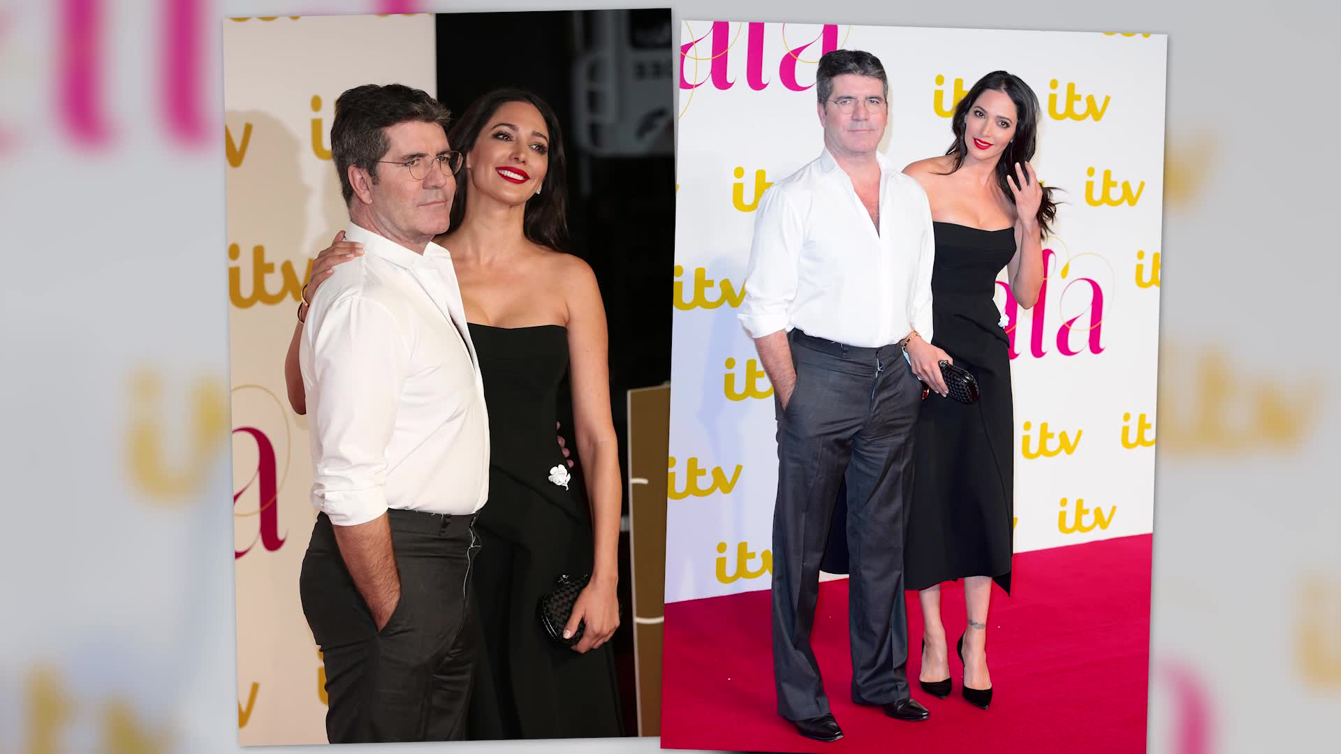 Simon Cowell And Celebrities At ITV's Gala